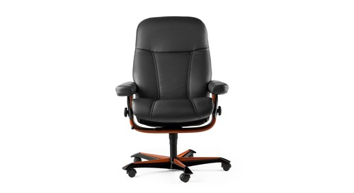 Stressless® Consul Leather Home Office Chair