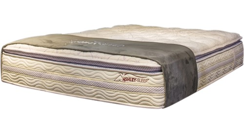 A - Sierra Slat Bed Mattress Only - Pillow Top M918 Queen
