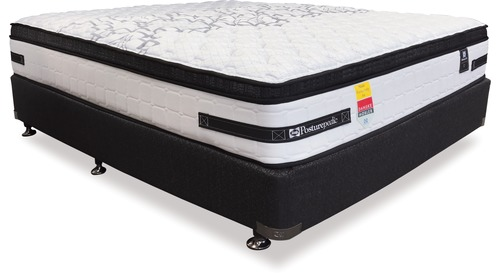 Sealy Exquisite Corsica Plush -    Double Mattress & Base