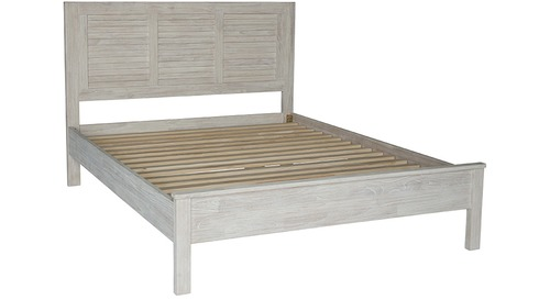 Harbourside Slat Bed Frame & Headboard - Queen