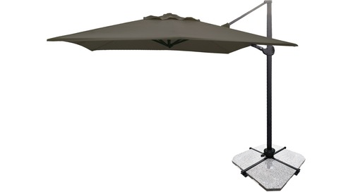 Atlas 3m Square Cantilever Outdoor Umbrella