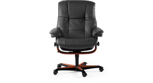 Stressless® Mayfair Leather Home Office Chair
